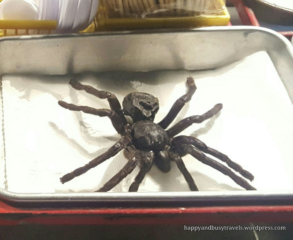tarantula exotic food