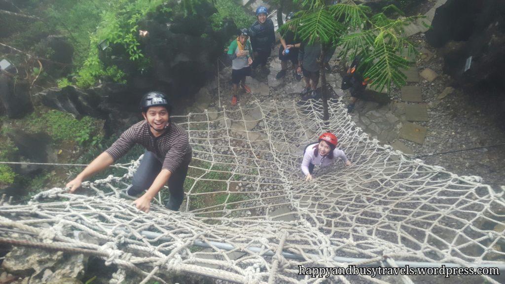 Rope stairs - Masungi Georeserve