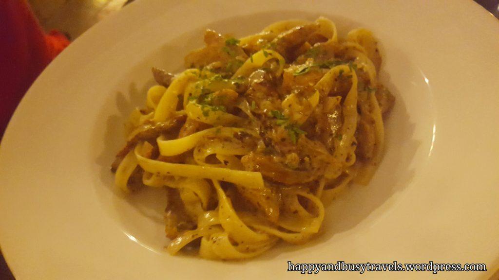 Fire LAke Grill - Fettuccine Pasta