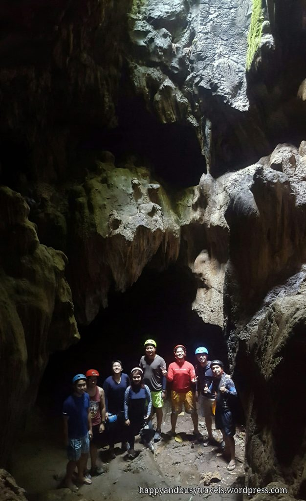 Calinawan Cave - FAce like rock