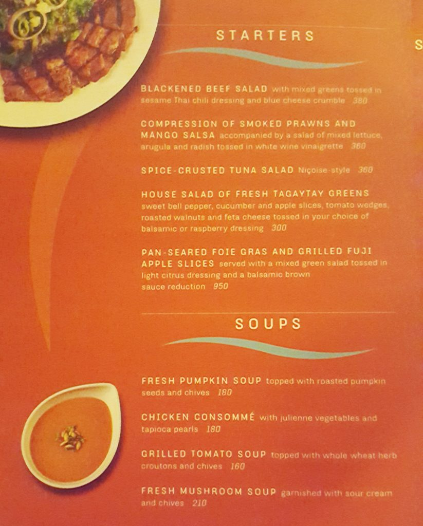 Fire Lake Grill Menu - Starters