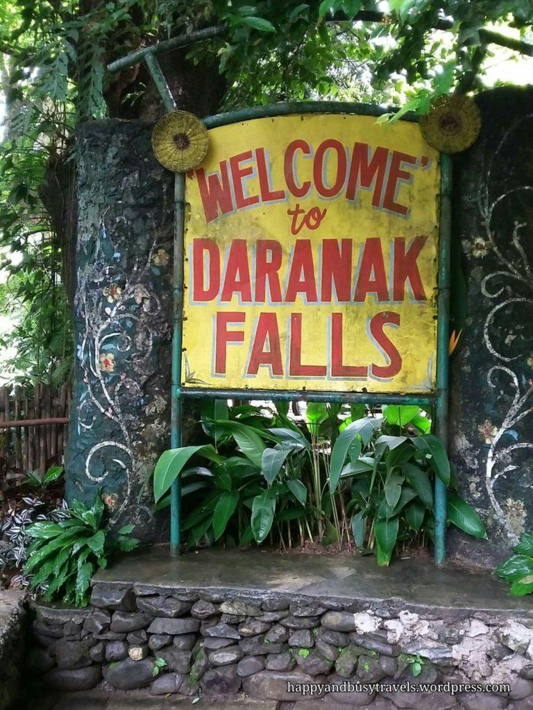Daranak Falls Entrance