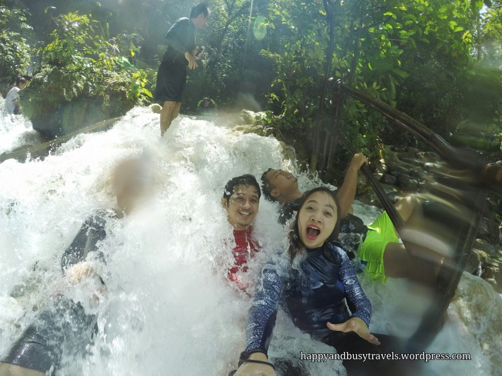 Mini waterfall - Daranak falls