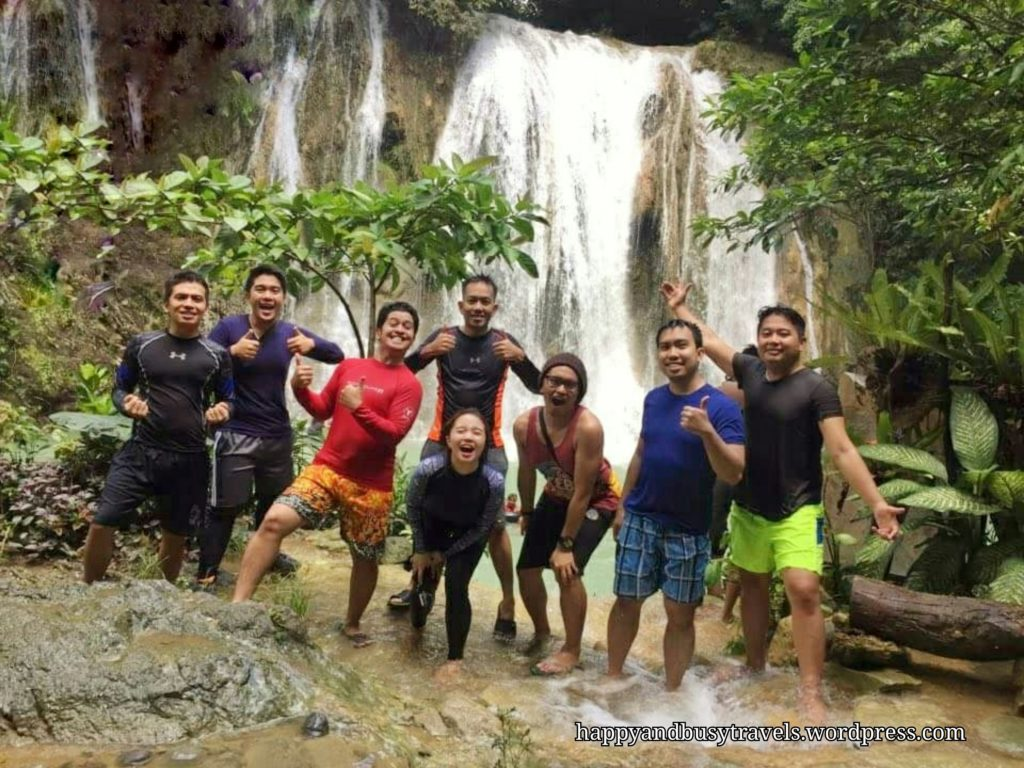 Group picture - Daranak falls