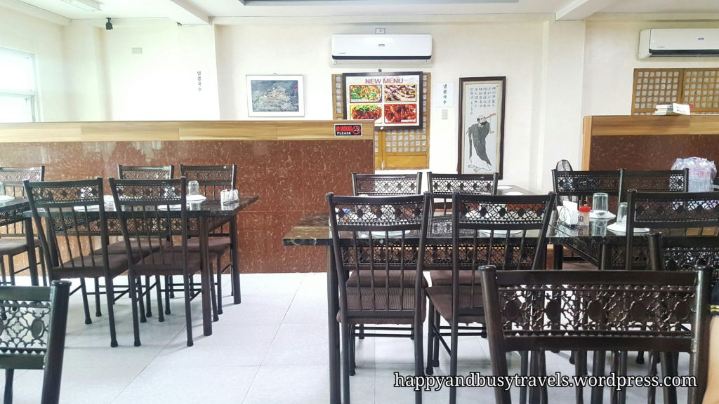 chairs and tables - Bek Ryeon Korean Restaurant