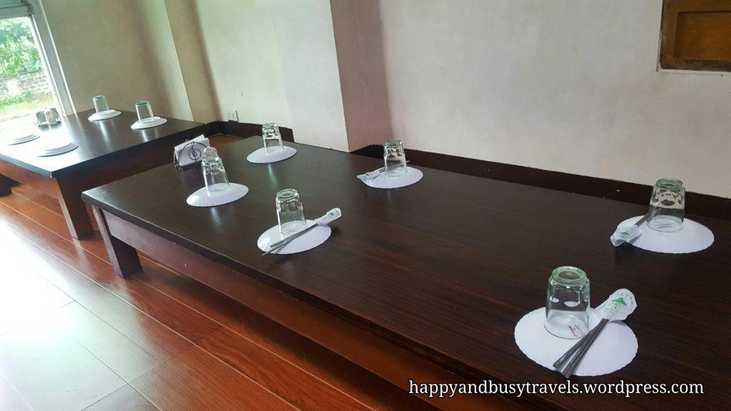 traditional tables - Bek Ryeon Korean Restaurant