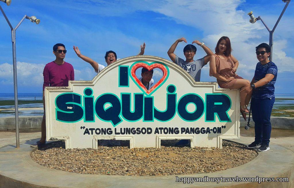 I Love Siquijor Sign