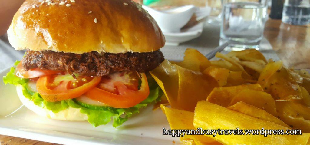 Vegan Burger - Baha Bar