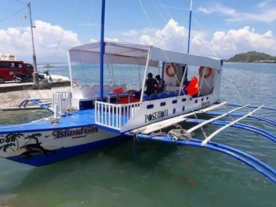 Boat from Two Sisters Boat Rental