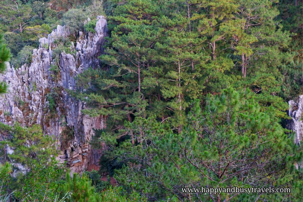 hangging coffins - Happy and Busy Travels to Sagada