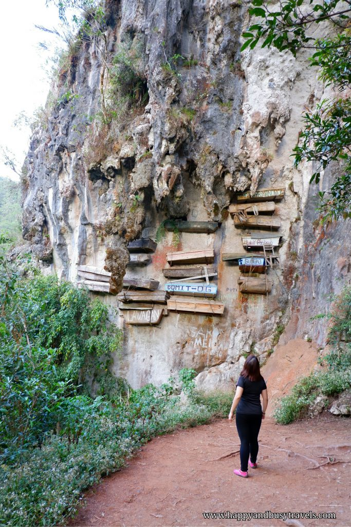 hanging coffins - Happy and Busy Travels to Sagada