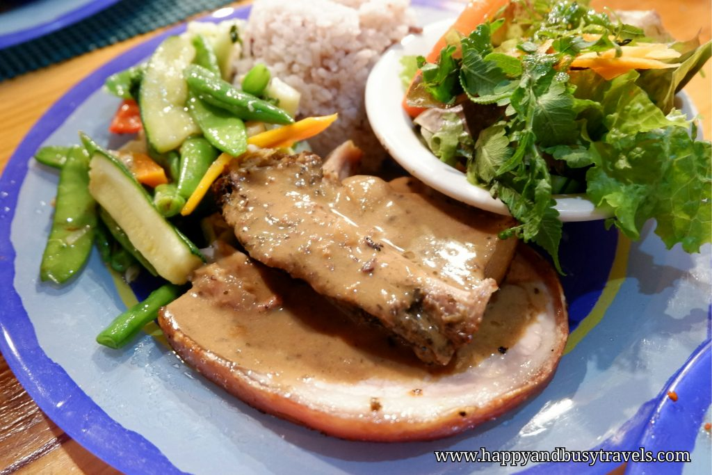 log cabin restaurant lechon pork belly - Happy and Busy Travels to Sagada