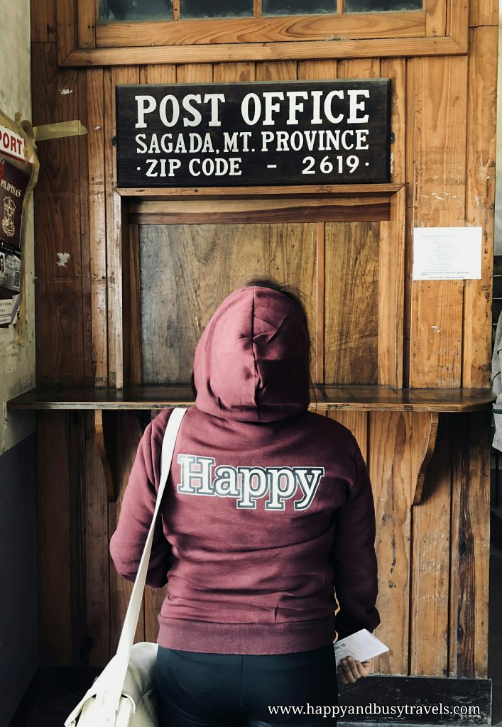 Post Office Municipal Tourist Information Office - Happy and Busy Travels to Sagada