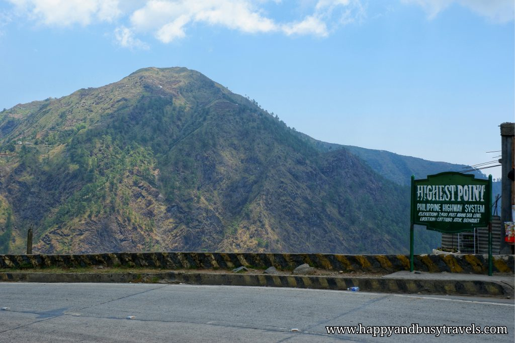 Philippine HIghway highest point - Happy and Busy Travels to Sagada