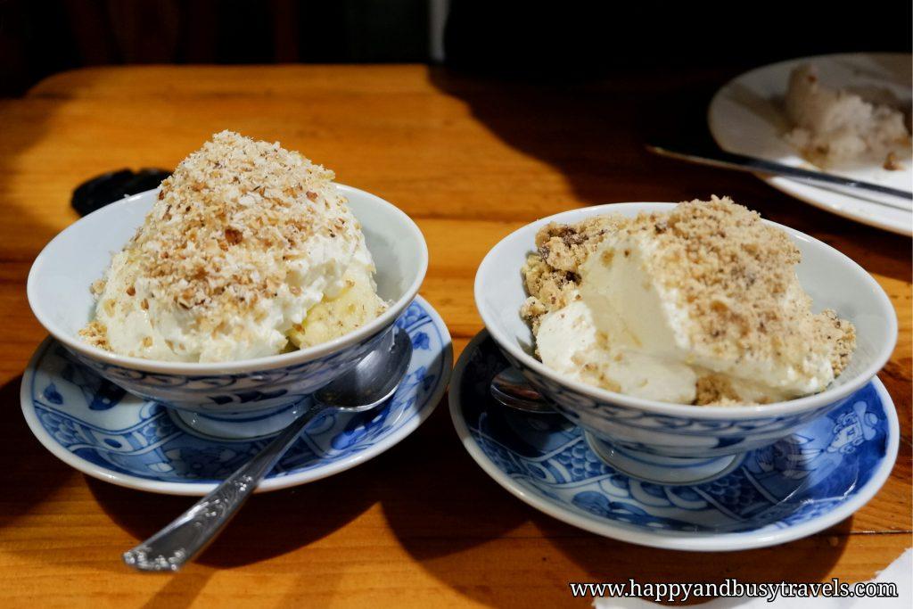 yoghurt house banana and granola yoghurt chocolate chip cookie yoghurt - Happy and Busy Travels to Sagada