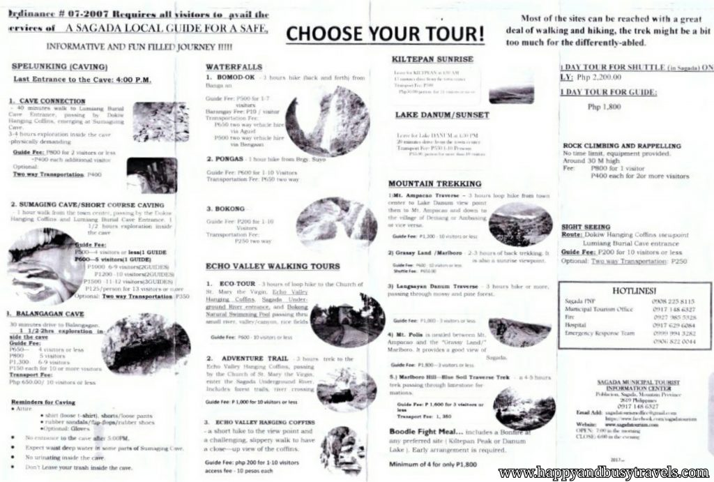 Sagada tour - Happy and Busy Travels to Sagada