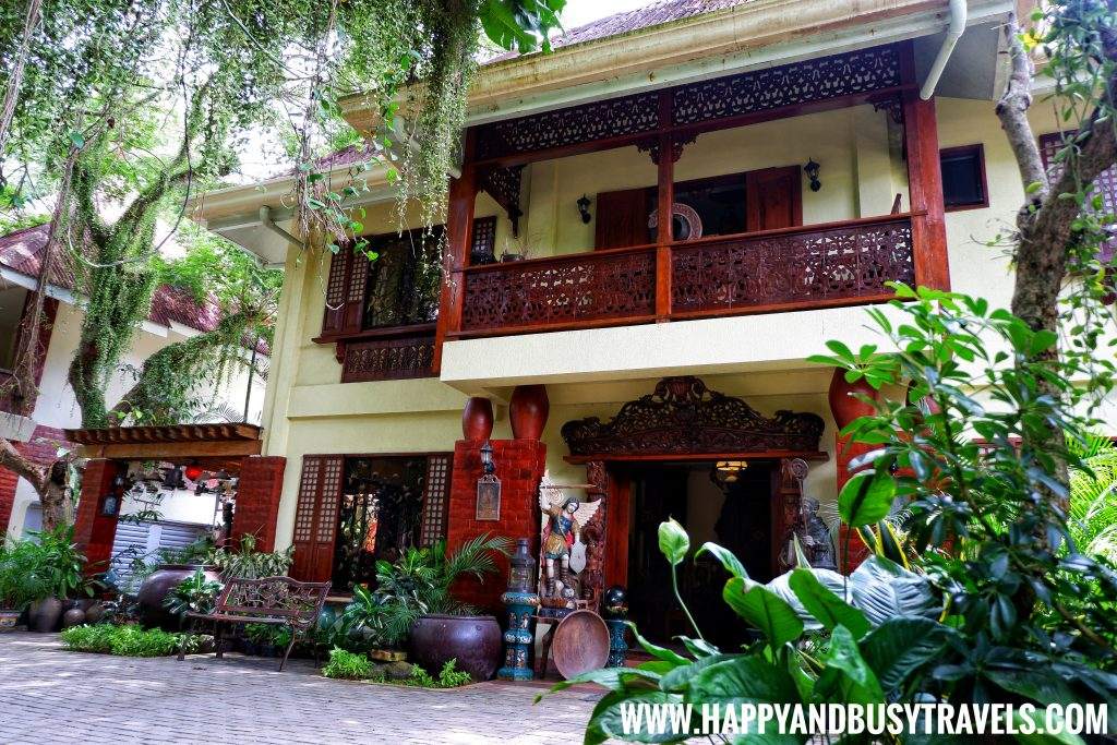 Alona Tropical Beach Resort Antique house