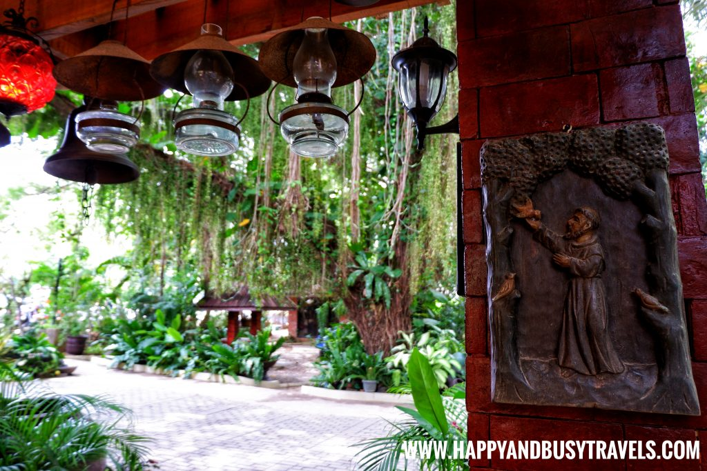 Alona Tropical Beach Resort antique house lamps