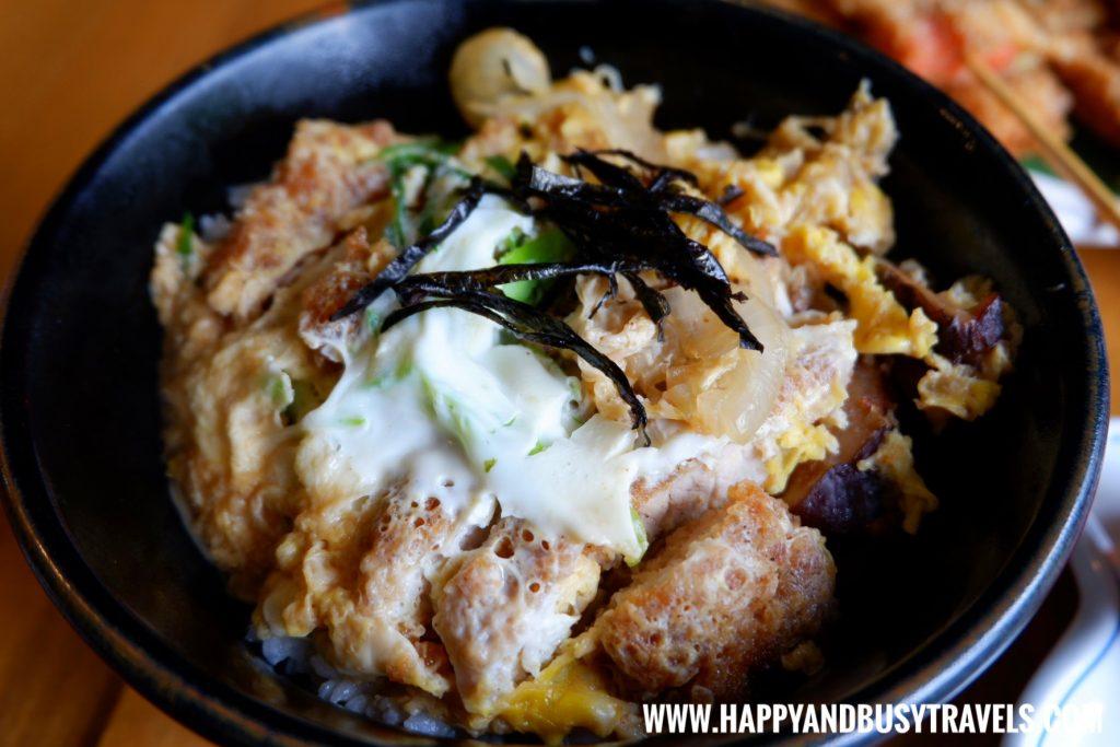 Katsu Don of Aozora Japanese Restaurant