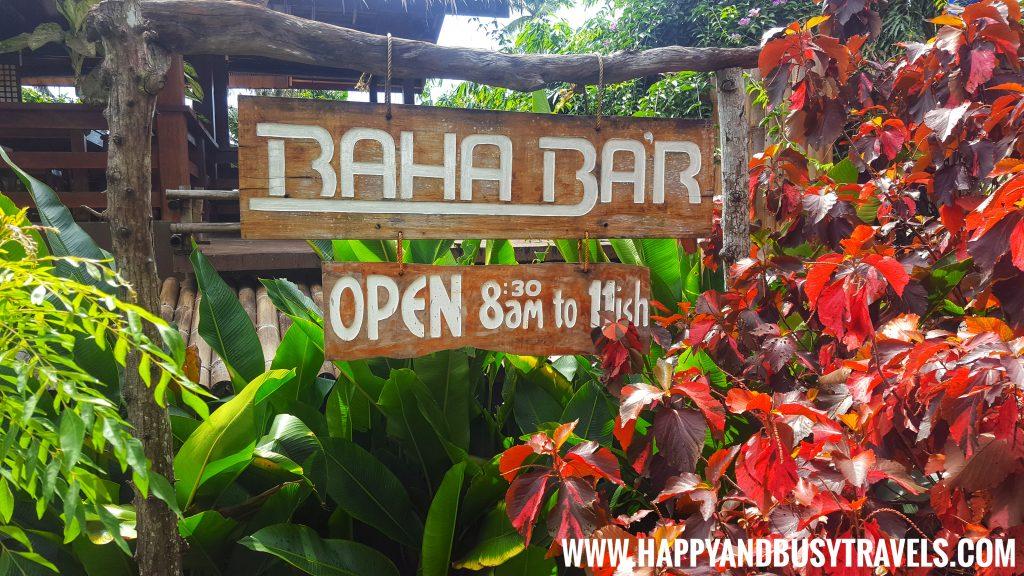 Baha Bar signage