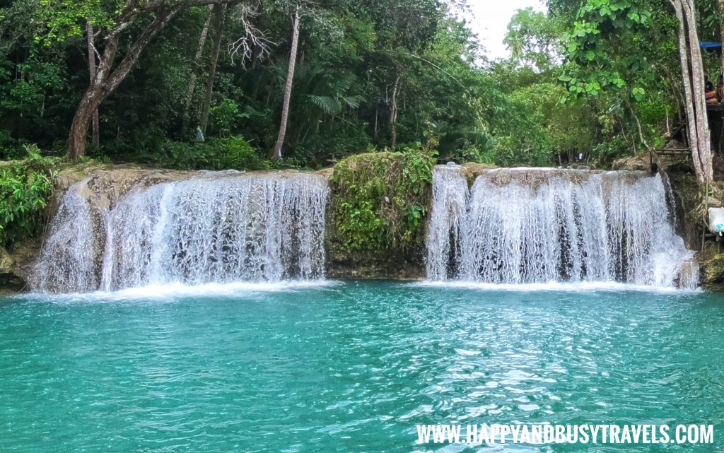 Cambugahay Falls in Siquijor