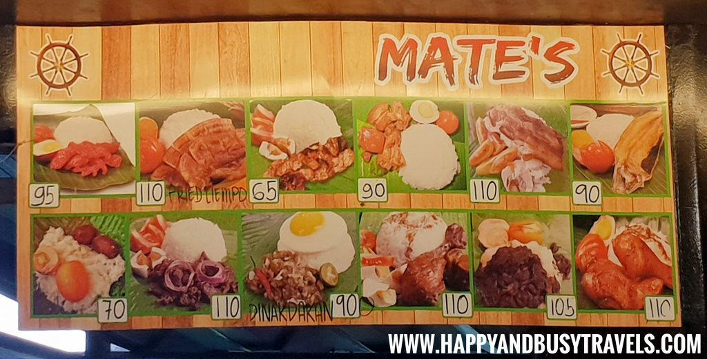 Food Barn Salitran Dasmariñas City Cavite Mates Tapsealog Menu