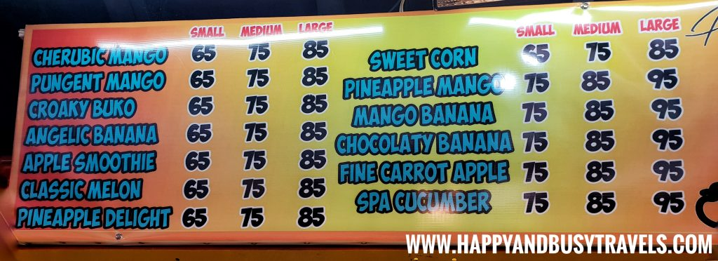 Food Barn Salitran Dasmariñas City Cavite Pika Pika menu