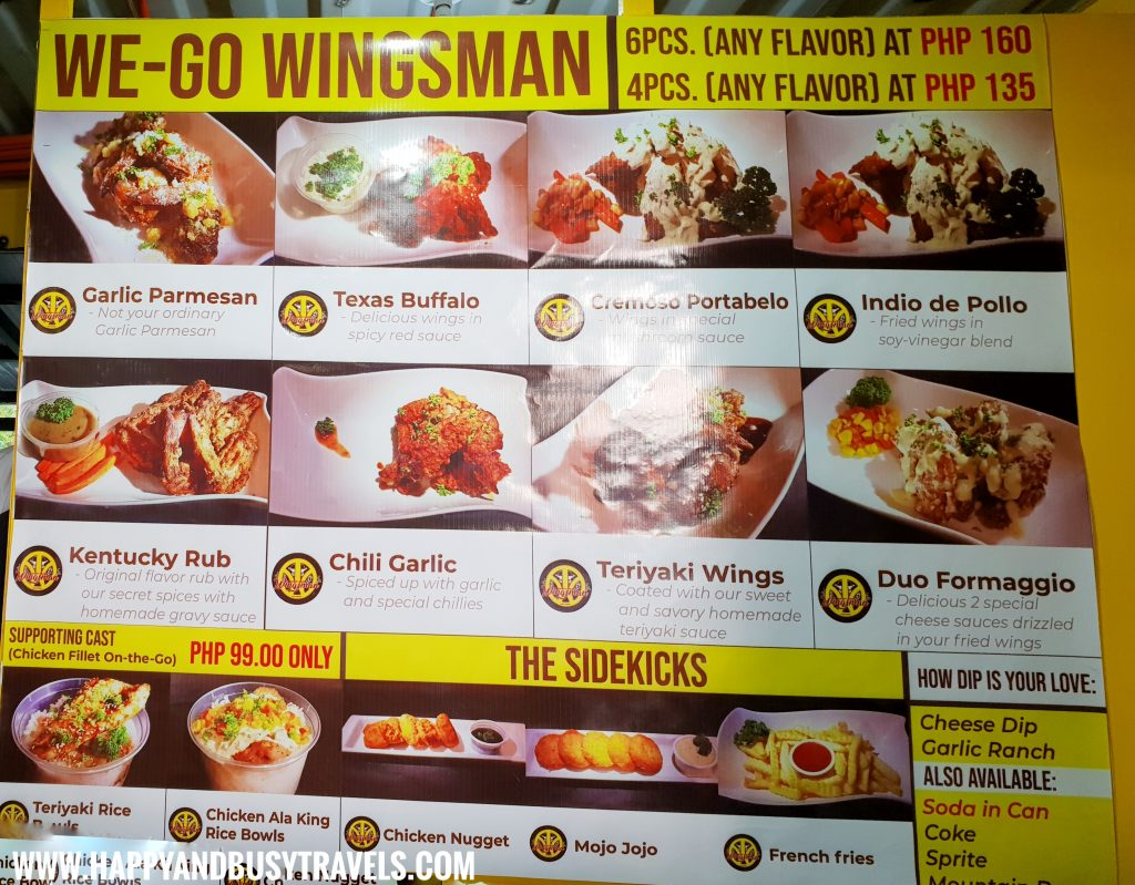 Food Barn Salitran Dasmariñas City Cavite We Go Wingsman Menu