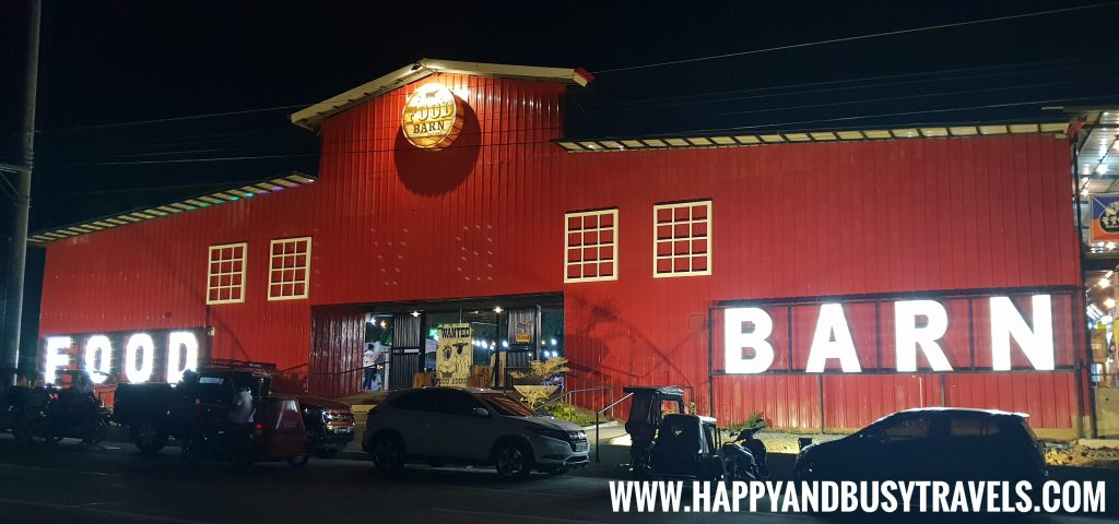 Food Barn Salitran Dasmariñas City Cavite in the evening