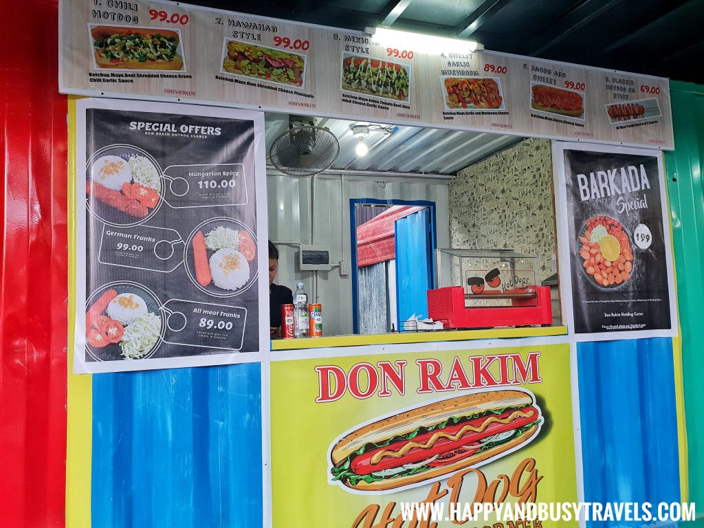 Food Barn Salitran Dasmariñas City Cavite Don Rakim Hotdog Corner