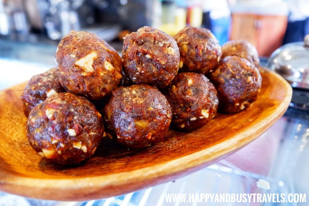 Shaka Restaurant Bohol Dates and Cashew Balls