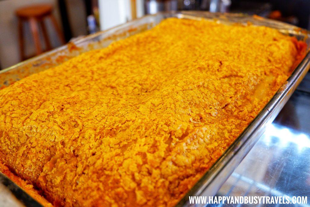 Shaka Restaurant Bohol Lasagna