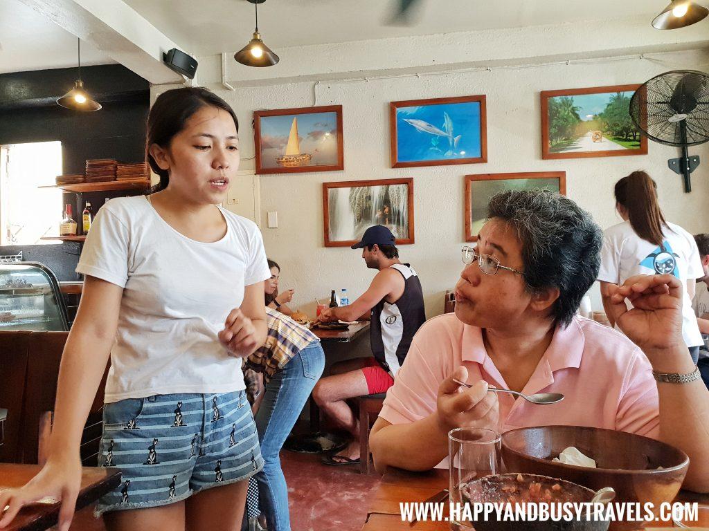 Shaka Restaurant Bohol Staff