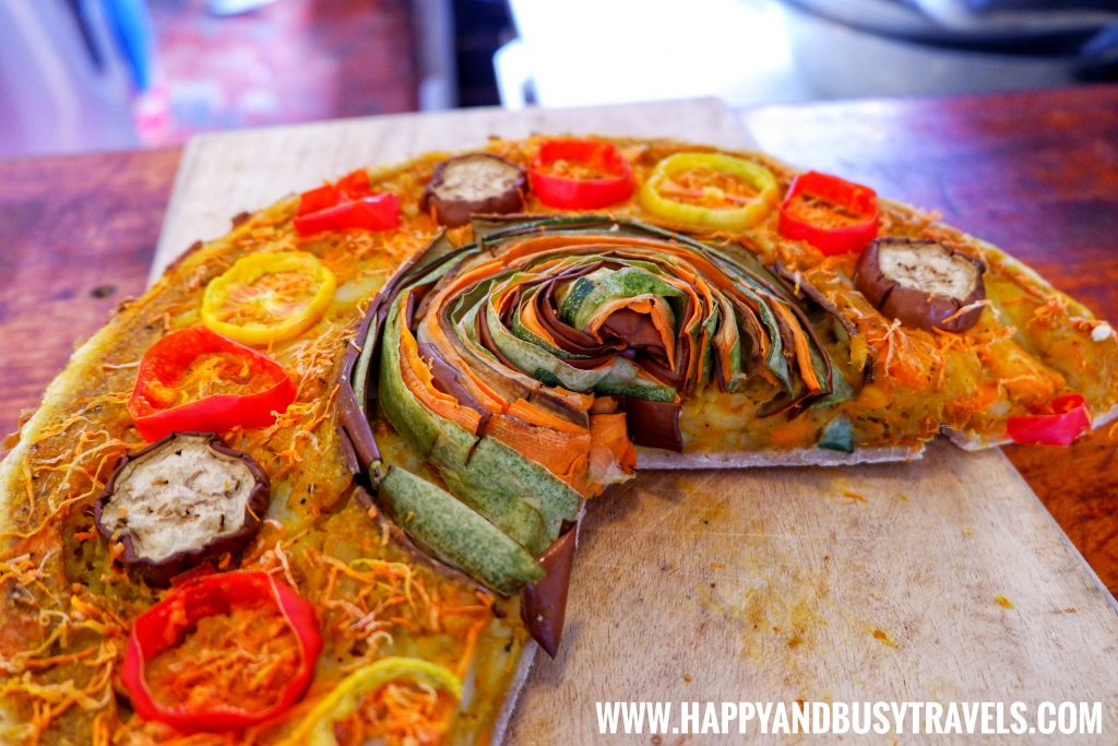 Shaka Restaurant Bohol Vegetable Spiral Pie
