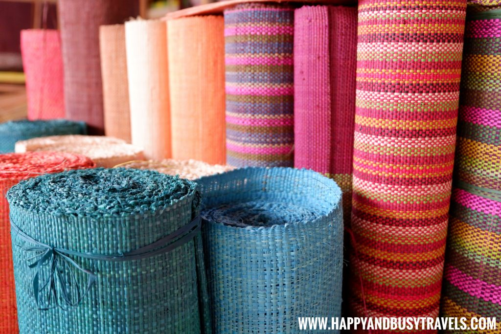 Bohol Bee Farm Native cloth Happy and Busy Travels