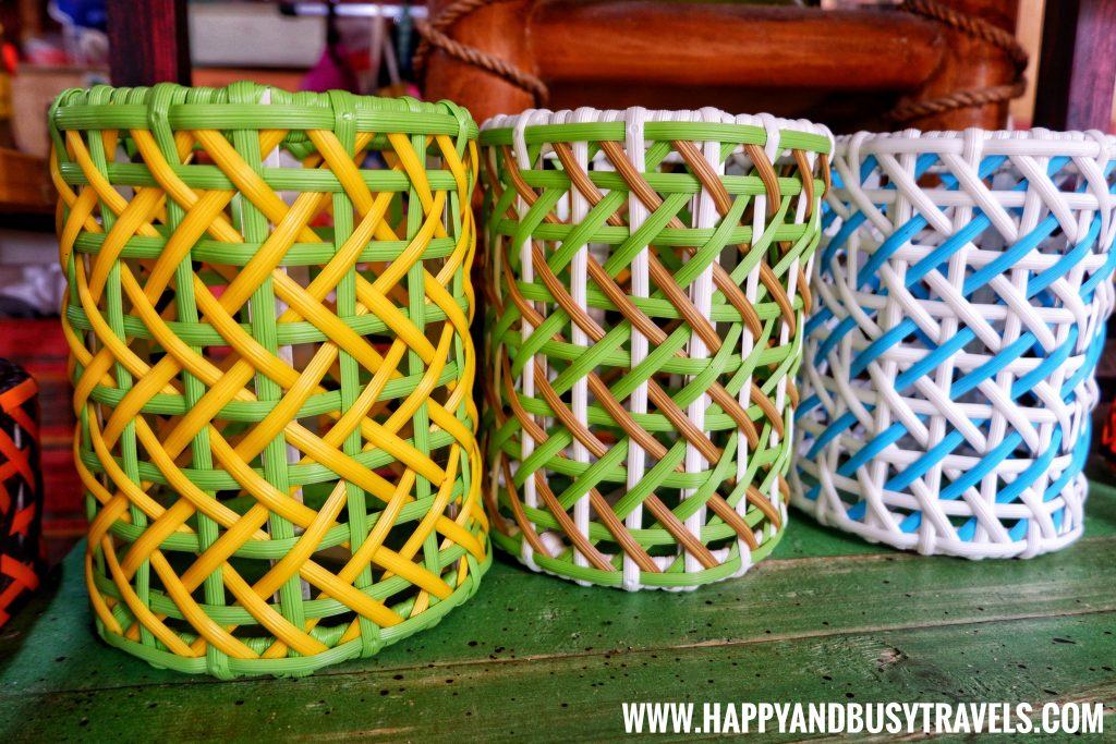 Plastic Rattan from Bohol Bee Farm Happy and Busy Travels
