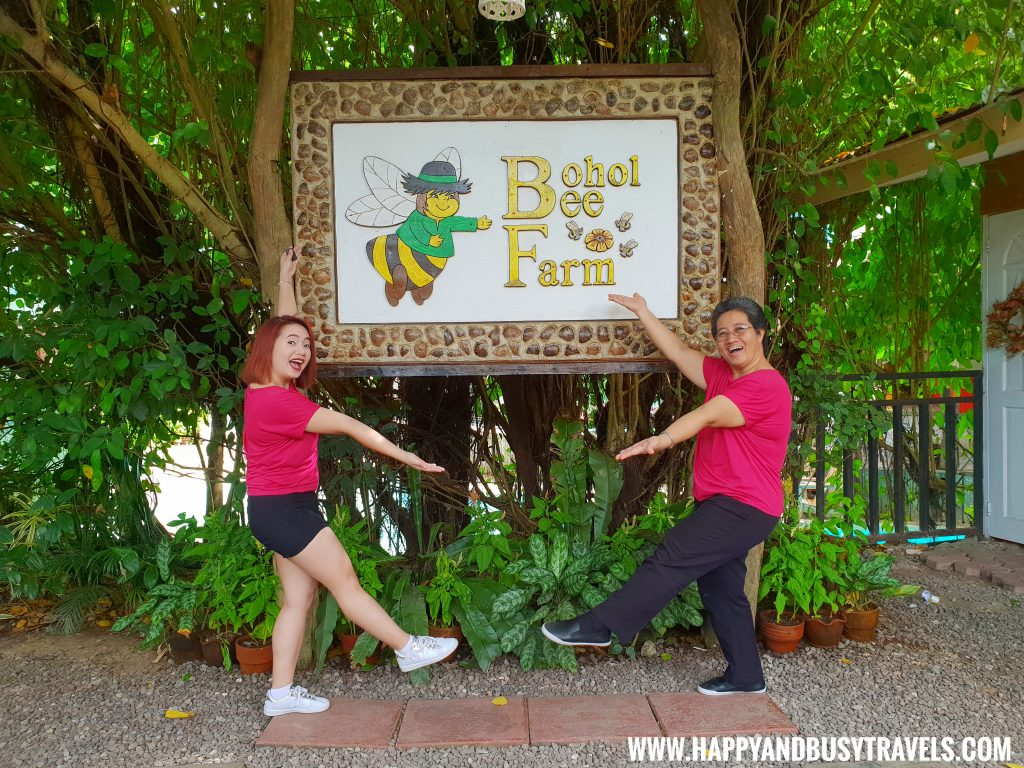 Welcome to Bohol Bee Farm Signage Happy and Busy Travels
