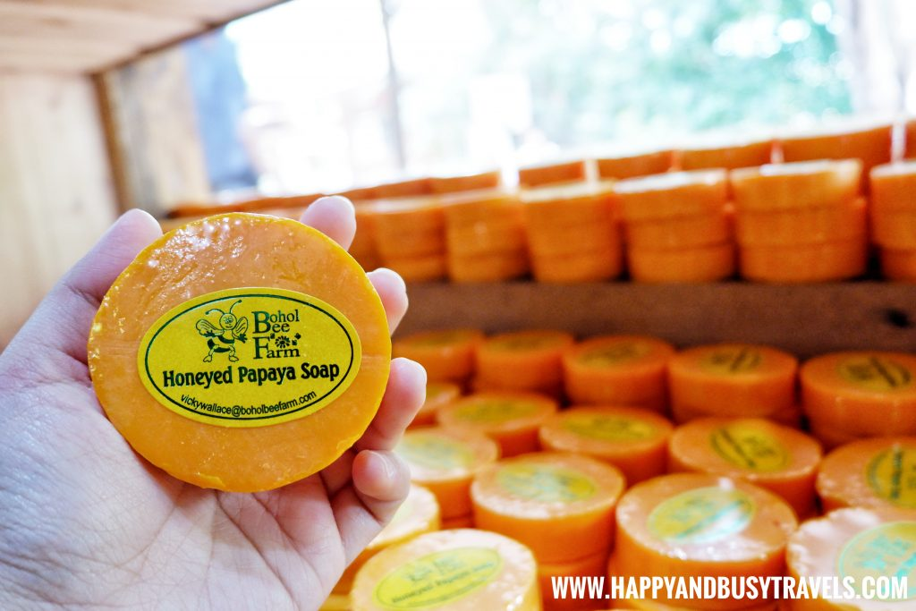 Honeyed Papaya Soap from The Buzz Shop at Bohol Bee Farm