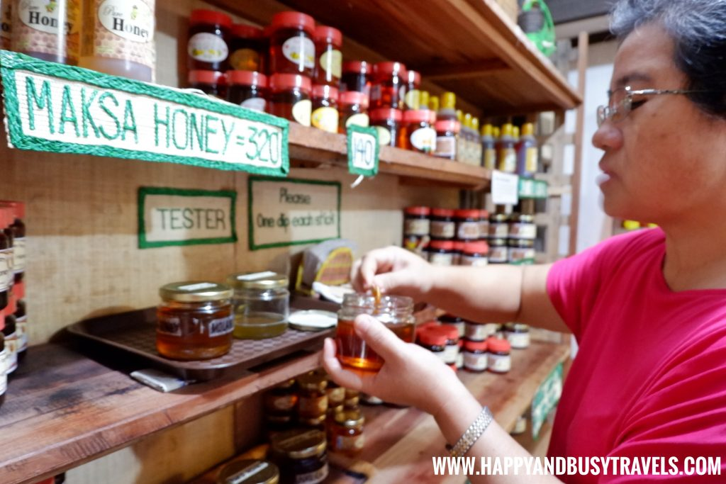 Honey tasting Bohol bee farm