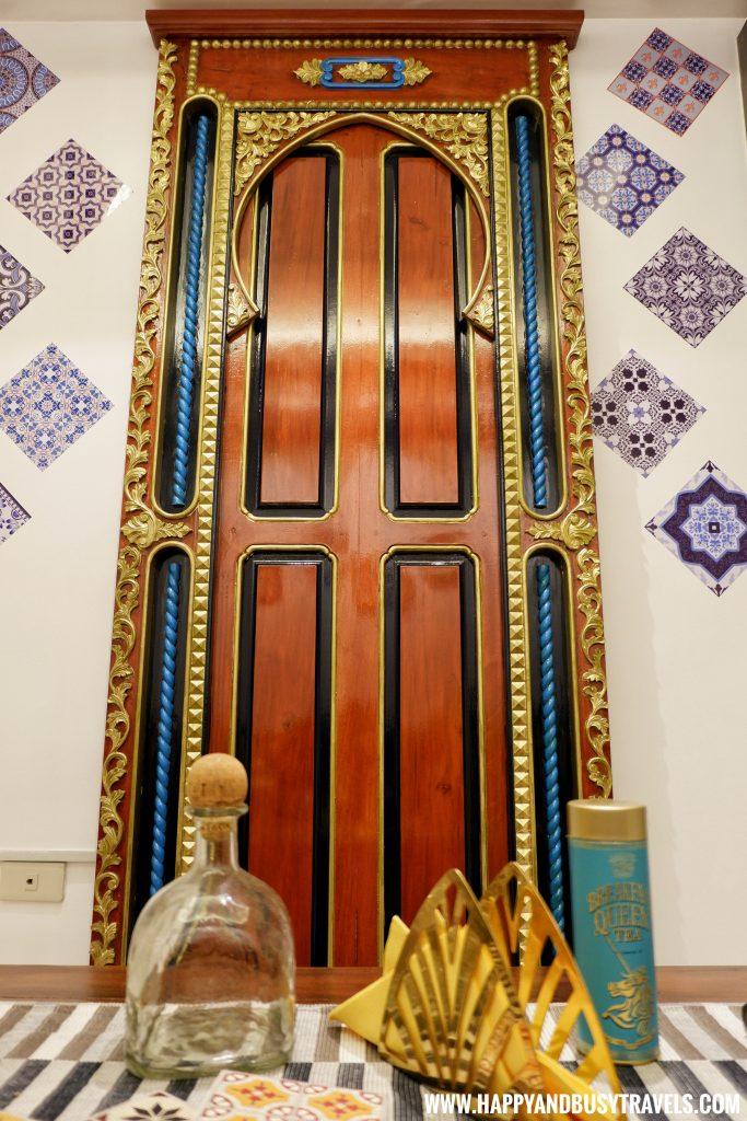 The IG wall Riyad of Morocco condominium for rent in Tagaytay