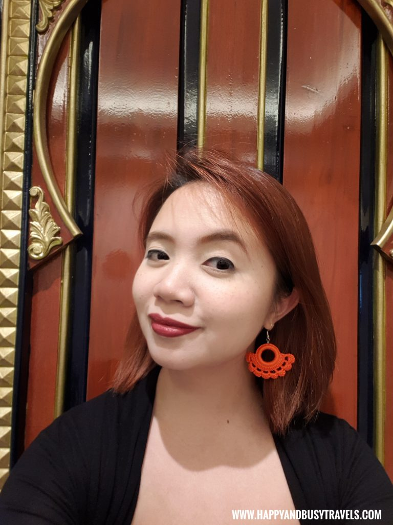 Hand made earrings from Stylliaph Riyad of Morocco condominium for rent in Tagaytay