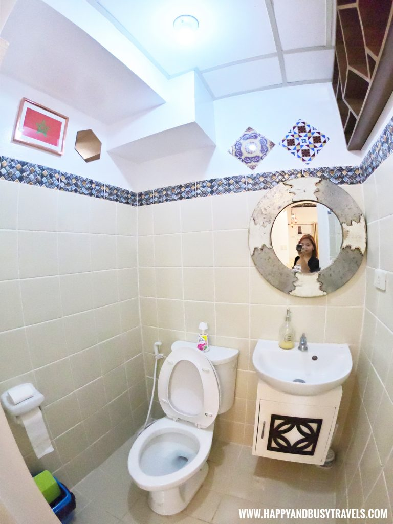Toilet of Riyad of Morocco condominium for rent in Tagaytay