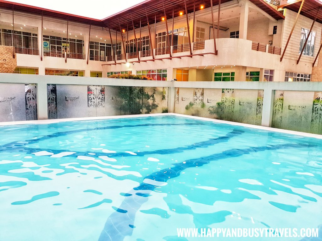 Swimming pool of Riyad of Morocco condominium for rent in Tagaytay