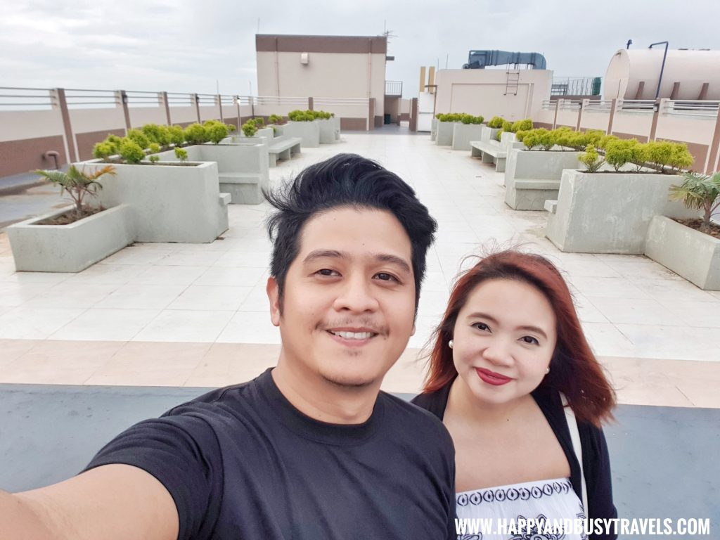 viewing deck of Riyad of Morocco condominium for rent in Tagaytay