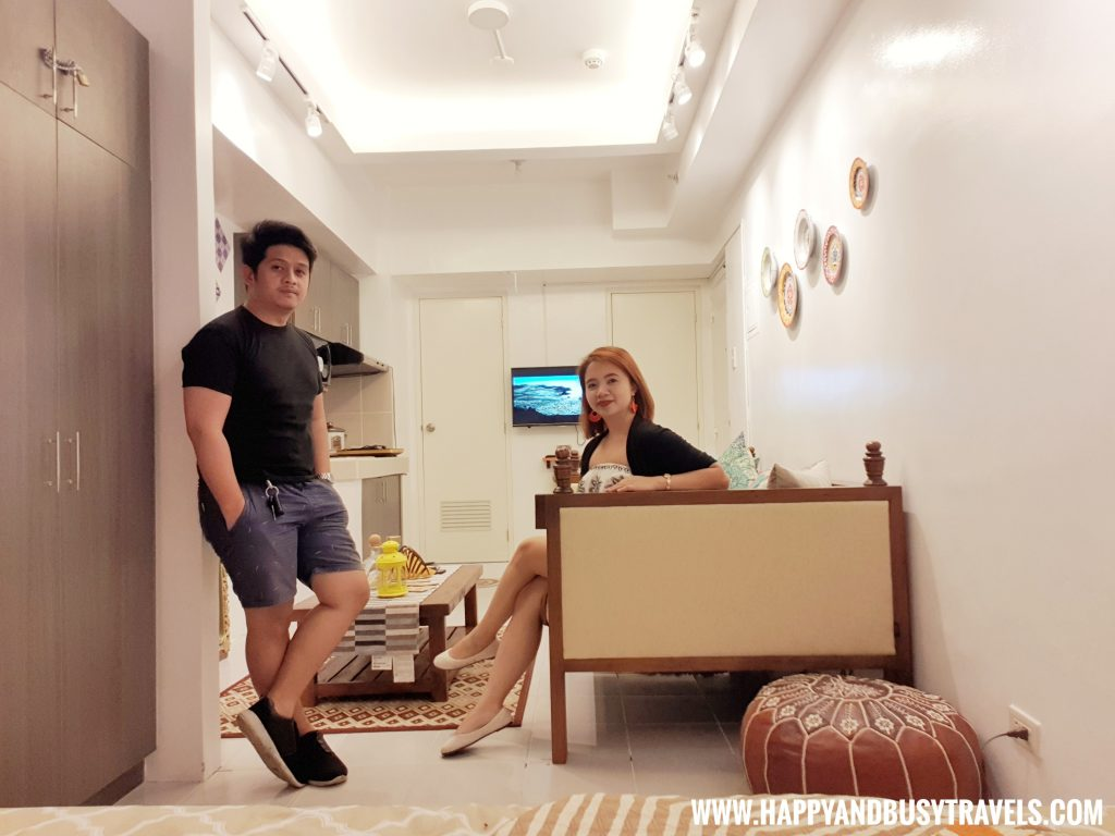 Happy and Busy in the Condominium Riyad of Morocco condominium for rent in Tagaytay
