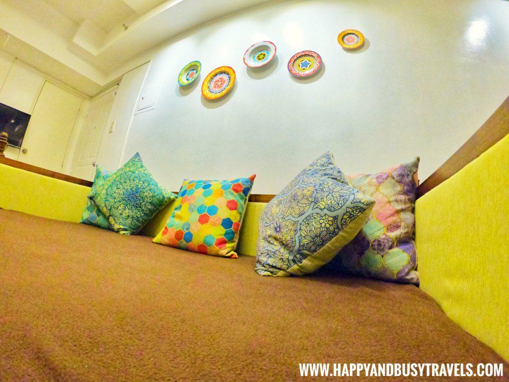 Sofa bed Riyad of Morocco condominium for rent in Tagaytay