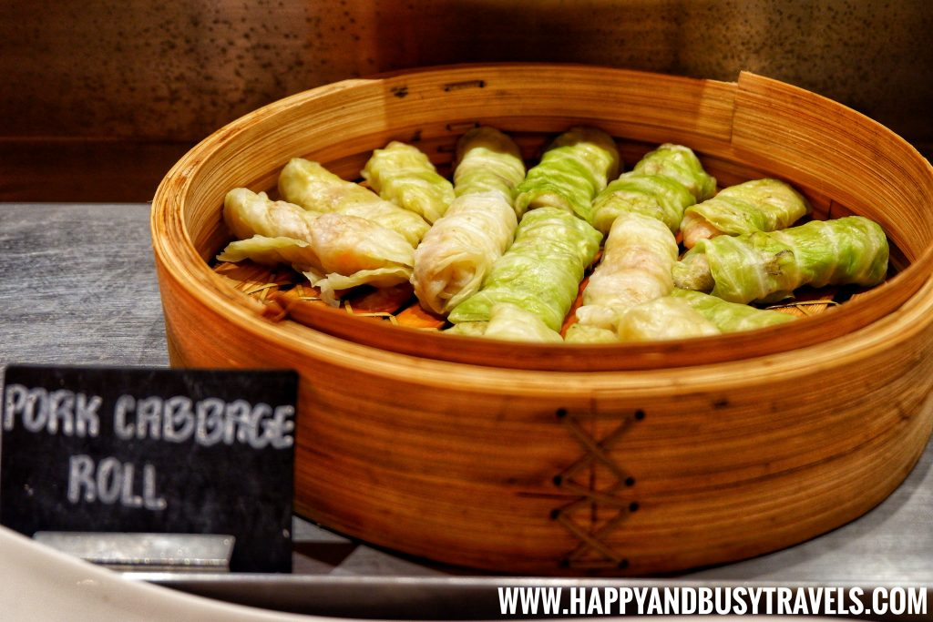 Sea Breeze Cafe Hennan Resort Bohol, Happy and Busy Travels Pork Cabbage Roll Dim Sum