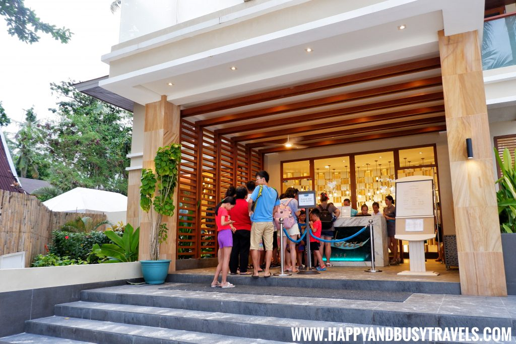 Sea Breeze Cafe Hennan Resort Bohol, Happy and Busy Travels getting in the restaurant