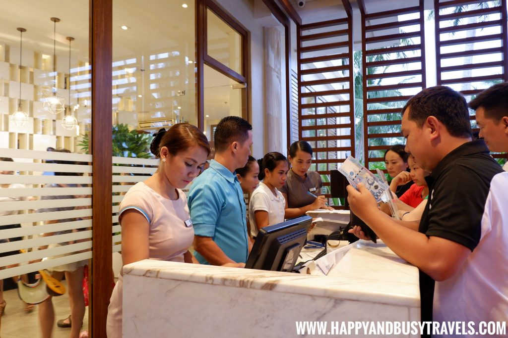 Sea Breeze Cafe Hennan Resort Bohol, Happy and Busy Travels reception area