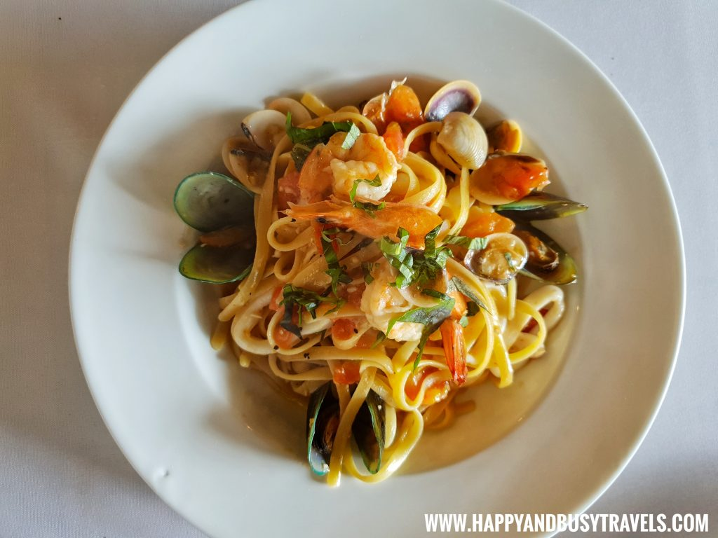 Marinara pasta of Trifoglio Ristorante Fora Mall Happy and Busy Travels to Tagaytay